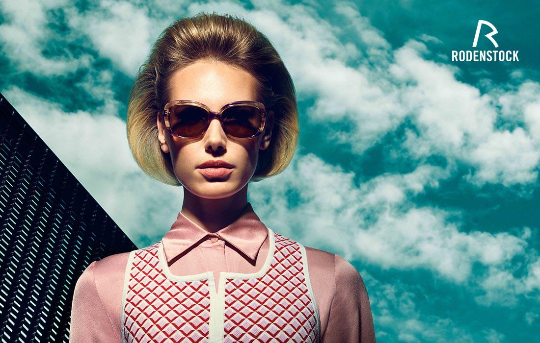 0e251ce2e20 Rodenstock Lady R zonnebril: zomers eerbetoon aan de jaren '60 ...